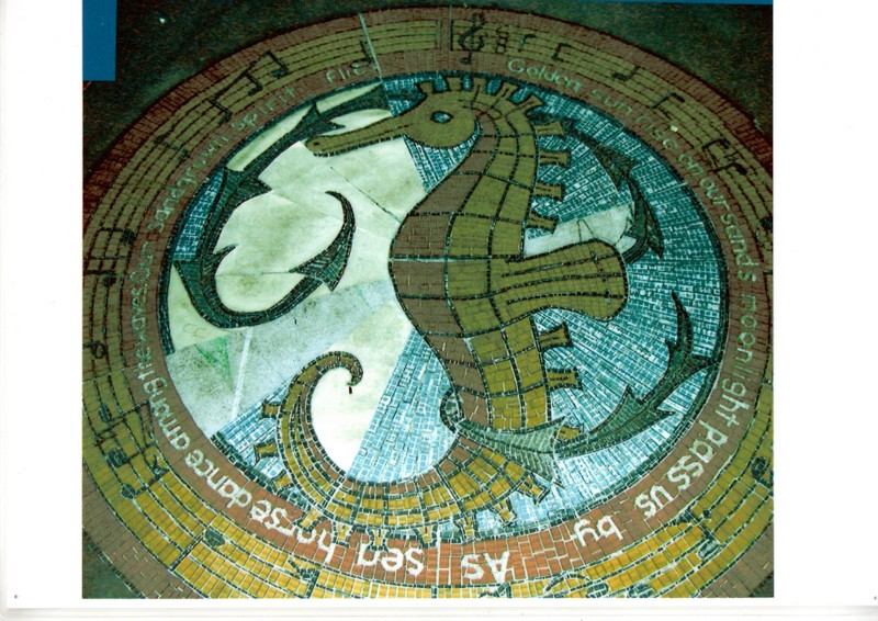 Mosaic in St Annes Square